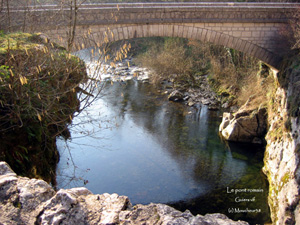 LE PONT ROMAIN GUIERS VIF.JPG
